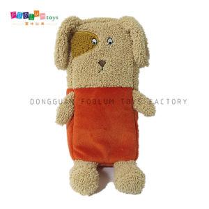 Custom Plush Padded Dog Pencil Case/Cosmetic Bag/ Pencil Bag