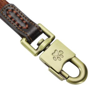 Leather Dog Leash-4 Foot X 1 Inch-for Medium and Large Dogs (Brown) pictures & photos