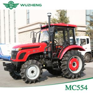 Waw Agricultural 55HP 4WD 8f+8r Gear Tractor From China pictures & photos