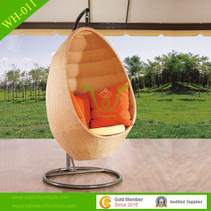 Garden Furniture Rattan Hanging Chair Swing Chair by Weaving