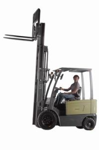 4-Wheel Electric Forklift Truck 1.0t pictures & photos