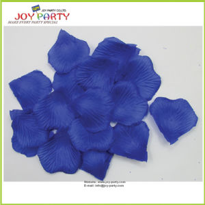 Glassic Blue Artificial Rose Petals