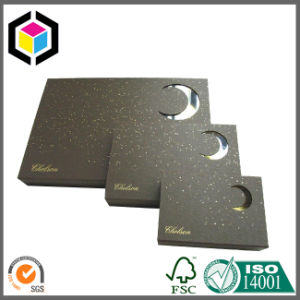 Matte Black Color Chipboard Paper Garment Packaging Box pictures & photos