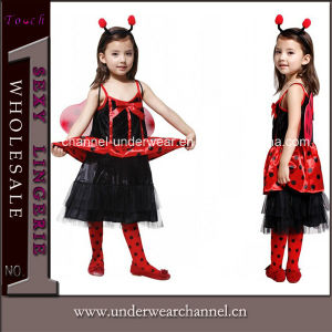 Wholesale Child Party Ladybug Halloween Costume (TLQZ019) pictures & photos