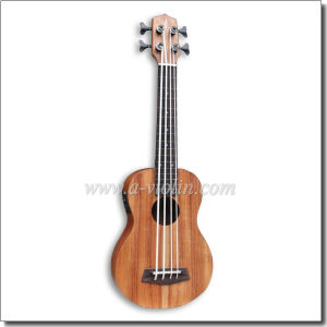 "20"" Scale Length Koa Plywood Ukulele Bass (AUB-40) pictures & photos"
