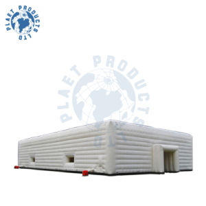 25m Outdoor Double Skin Inflatable Exhibition Cube Tent (PLT20-012)