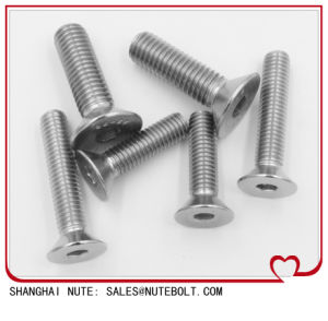 Hexagon Socket Countersunk Head Screw DIN7991 pictures & photos