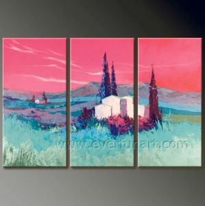Wall Art for Decor Scenery Oil Painting on Canvas (LA3-130) pictures & photos