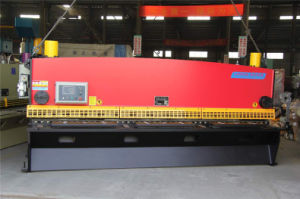 Manufacture Hydraulic Guillotine Shearing Machine pictures & photos