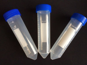 Disposable 50ml Conical Bottom Plastic Centrifuge Tube pictures & photos