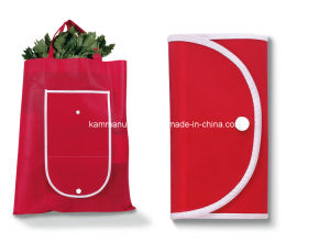 Collapsibe Non Woven Shopping Bag (KM3187) pictures & photos
