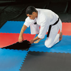 60*60 1cm 1.2cm 2cm Interlocking EVA Mat for Sport Gym