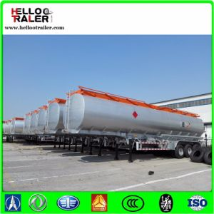 Tri Axle Carbon Steel 60000 Liters Fuel Tank Semi Trailer pictures & photos