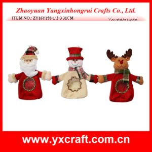 Christmas Decoration (ZY16Y158-1-2-3 31CM) Shiny Christmas Bag Candy Handbags pictures & photos