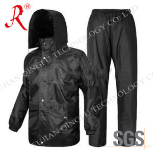 Waterproof and Breathable Rain Suit (QF-706) pictures & photos