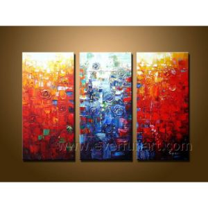 Hand-Painted Modern Art Abstract Oil Painting (XD3-206) pictures & photos
