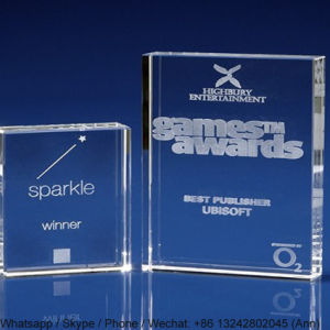 Custom Clear Acrylic Trophy for Winner pictures & photos