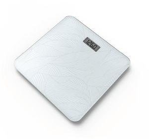 Personal Slim Electronic Weighing Bathroom Scale with Glass Platform pictures & photos