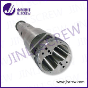 PVC WPC Conical Double Screw Barrel