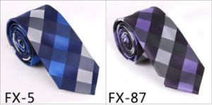 New Design Fashionable Check Tie (Fx-5) pictures & photos