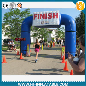 Best Sale Running Race Use Inflatable Finish Line Arch pictures & photos