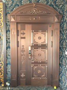New Design Villa Luxury Entrance Copper Door pictures & photos