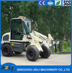 Automatic Transmission Farm Loader 4WD Small Wheel Loader pictures & photos