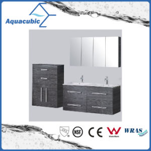 Bathroom Vanity Combo in Black with Side Cabinet (ACF8918) pictures & photos