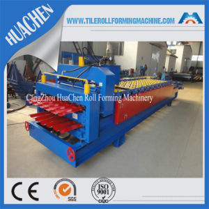 New Type Metal Glazed/Trapezoidal Roof Tile Roll Forming Machine