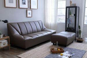 High Density Sponge Corner Italy Leather Sofa pictures & photos