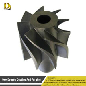 China Vacuum Cleaner Investment Casting Brass Impeller Pump Part pictures & photos