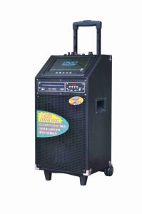 Professional Wireless Speaker Trolley Battery Speaker F27 pictures & photos