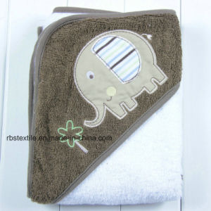 Wholesale Hooded Bath Towel and Wash Cloth Set for Baby/Kids pictures & photos