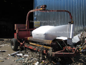LLDPE Blown Waste Wrap / Garbage Wrap / Trash Wrap Square Bale Film pictures & photos
