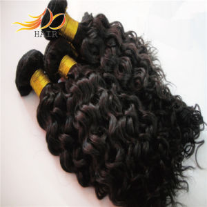 6A Unprocessed Natural Color Indian Virgin Hair Extension pictures & photos