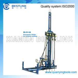 Pneumatic Mobile Rock Drill Line Drilling Machine pictures & photos