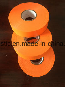Flagging Tape Orange Color Supplier pictures & photos