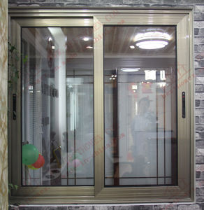 Powder Coating Aluminum Windows with Gregorian Bars (BHA-SW33) pictures & photos