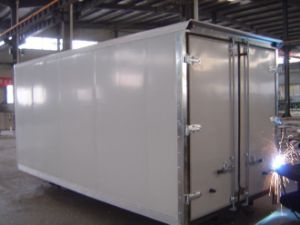 CBU FRP Dry Truck Body