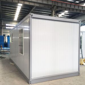 10 Minutes Installing Folding Container House pictures & photos