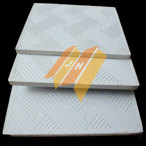 PVC Gypsum Ceiling Gypsum Board / Ceiling Tile with Aluminium Foil Back pictures & photos