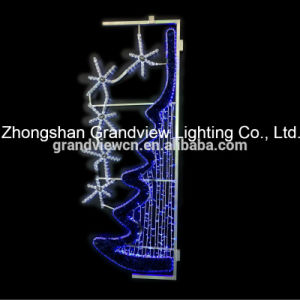 LED Street Decoration Rope String Motif Lights pictures & photos