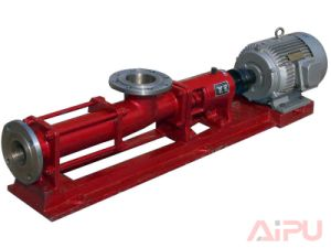 Well Drilling and Mud Cleaning Screw Pump