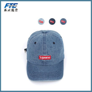 Custom 100% Cotton Embroidered Sport Baseball Cap pictures & photos