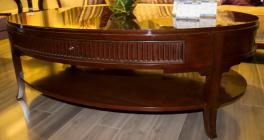 Contemporary Solid Wood Coffee Table Era