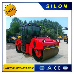 8t Lutong Vibratory Double Drum Road Roller with Cummins Engine pictures & photos