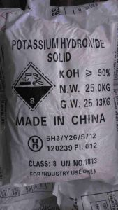 High Quality Potassium Hydroxide KOH pictures & photos
