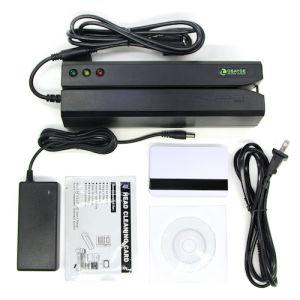 Updated Tracks Hi-Co Magnetic Card Reader/Writer with 20 Blank Cards Compatible for Msr606 Msr605 Msr206