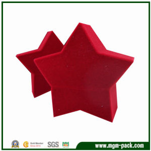 Lovely Christmas Star Plastic Gift Box pictures & photos