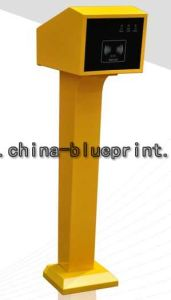 Economic Easy Type Parking System Ticket Box Toll System pictures & photos